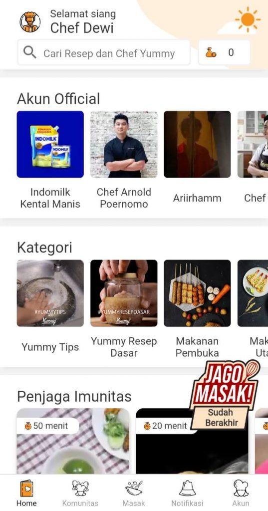 yummy app - setyodewi.com